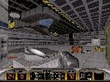 Hangár výsadkových modulů